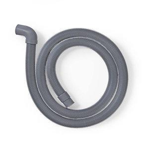 nedis Afvoerslang | 22 mm Gehoekt - 19 mm Recht | 0,5 Bar | 60 °C | 1,50 m