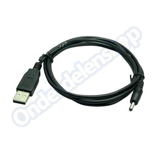 DELOCK usb naar dc kabel stekker dc 3.5 x 1.35 mm stekker 1.5meter