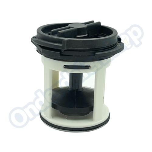 Bauknecht 481948058106 Filter kort -voor Plaset pomp-
