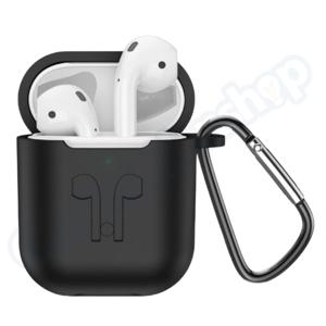 Hoco Hoco White AirPods + Wireless Charging Case + Black Sleeve