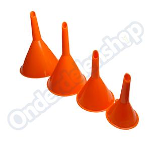 Benson trechterset 4 dlg oranje