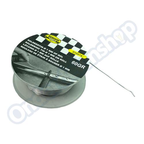 Benson soldeertin 60 gram ø1 mm op rol