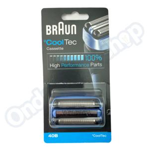 Braun Scheerblad CoolTec 40B