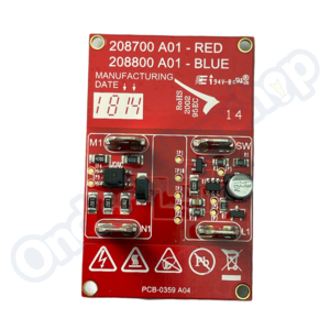 Numatic 208428 Print 2 Toeren 600W/1200W
