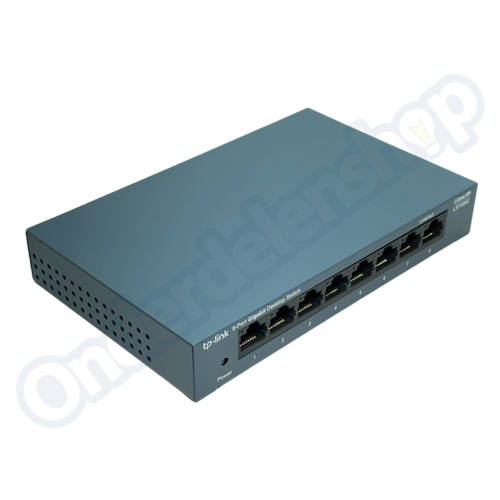 TP-Link TP-Link LiteWave Netwerk Switch 8-Poorten 1Gb Metalen Behuizing