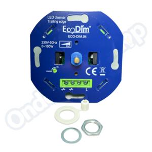 Ecodim LED Dimmer  0--150w  fase afsnij DIM.04