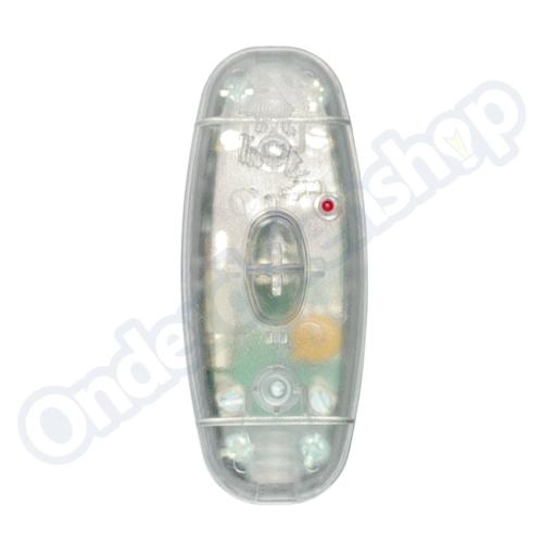 Universeel Snoerdimmers tbv LED 220V transparant 10 - 150w