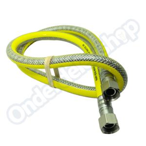 Raminex 150CM Gasslang RVS flexibel voor inbouw