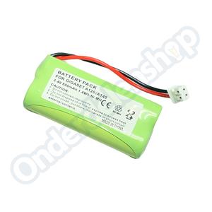 com Batterij 500 mAh 2,4V T436 siemens gigaset