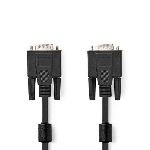 nedis VGA-Kabel / VGA Male - VGA Male / 3,0 m / Zwart