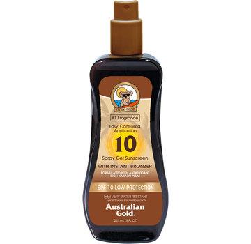 Australian Gold LSF 10 Spray Gel mit Bronzer