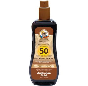 Australian Gold LSF 50 Spray Gel mit Bronzer