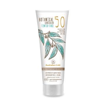 Australian Gold LSF 50 Botanical Tinted Face - Medium-Tan