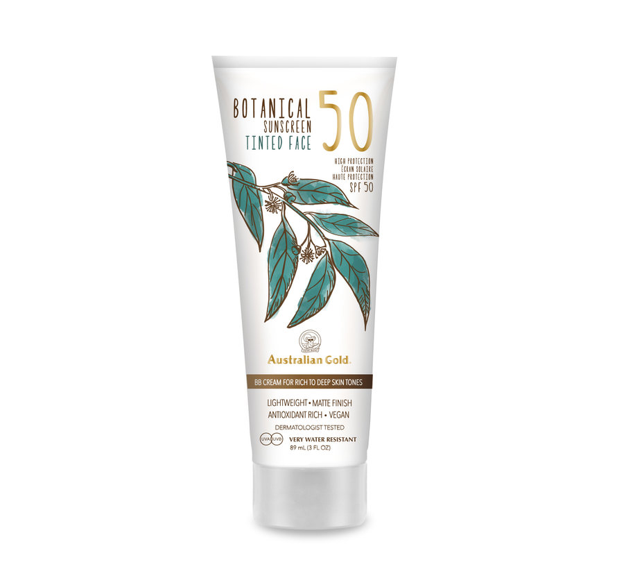 LSF 50 Botanical Tinted Face - Rich-Deep