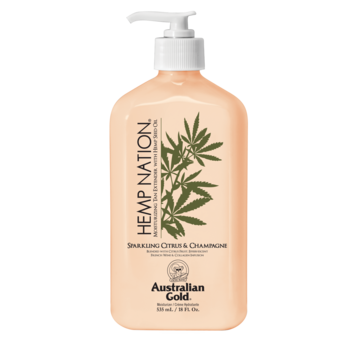 Australian Gold Hemp Nation Body Lotion Sparkling Citrus & Champagne