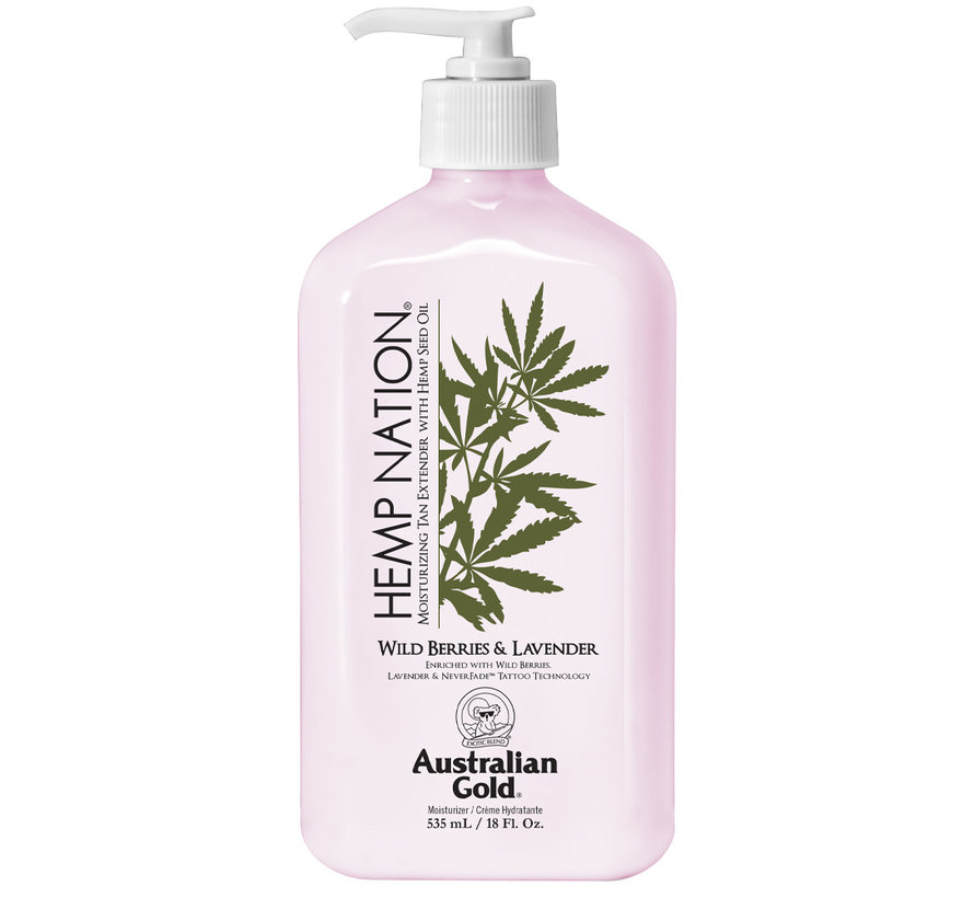 Hemp Nation Wild Berries & Lavender Body Lotion - Aftersun