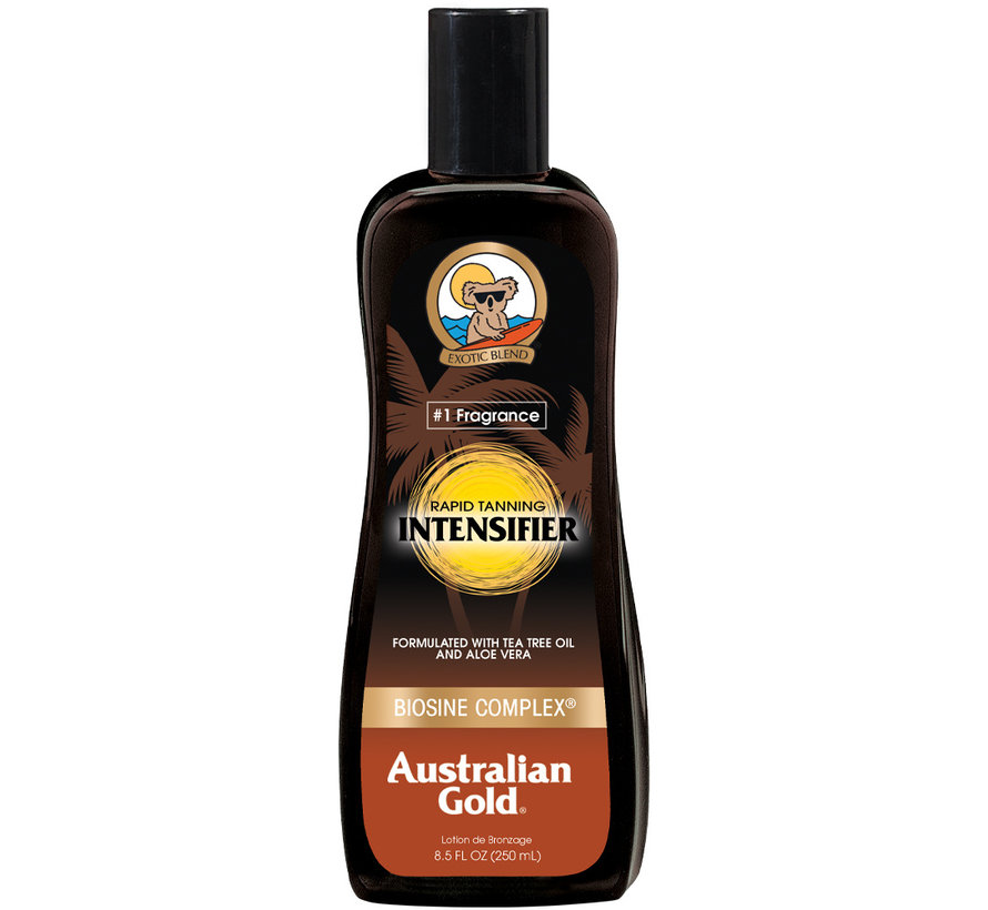 Rapid Tanning Intensifier Lotion - sunscreen without SPF