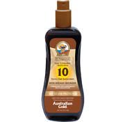 Australian Gold SPF 10 Spray Gel with bronzer