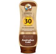 Australian Gold SPF 30 Lotion avec bronzer
