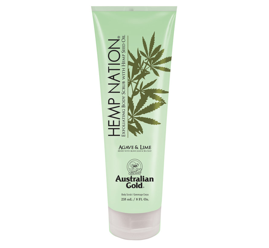 Hemp Nation Agave and Lime Body Scrub
