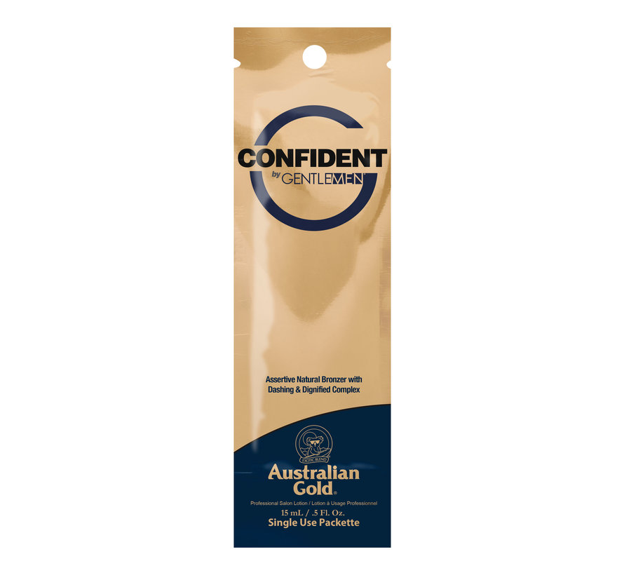 Confident by G Gentlemen - zonnebankcreme
