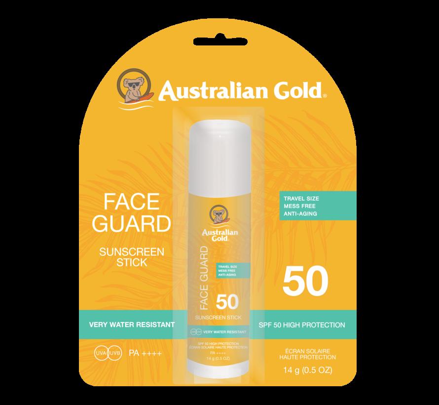 SPF 50 Face Guard Stick - Zonnebrandcrème