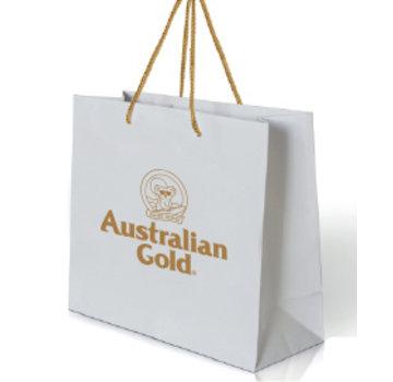 Australian Gold White Gold Gift Bag