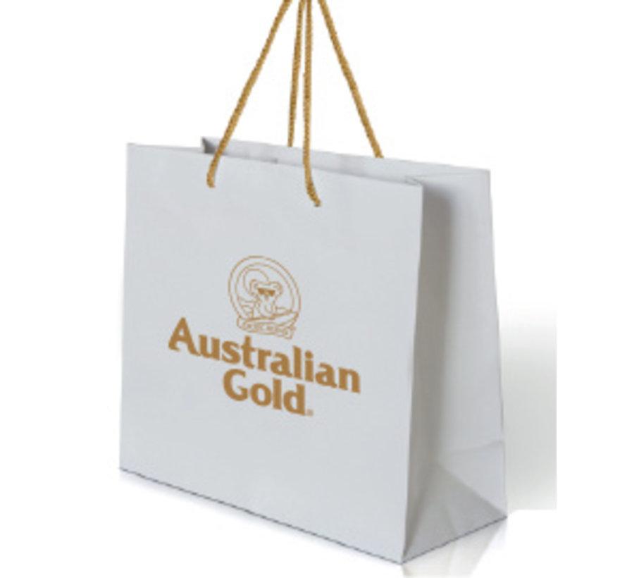 White Gold Gift Bag