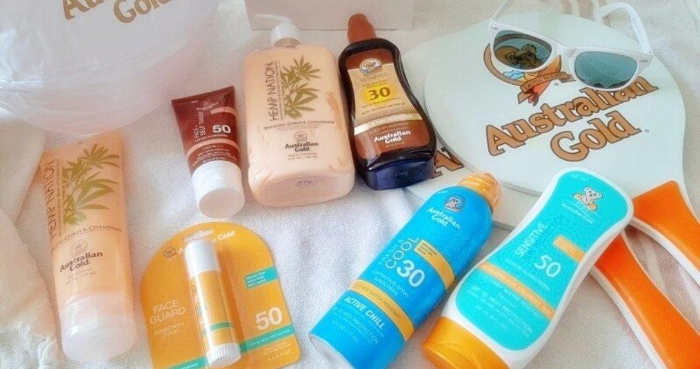 Australian Gold Producten om Langer van de Zon te genieten!
