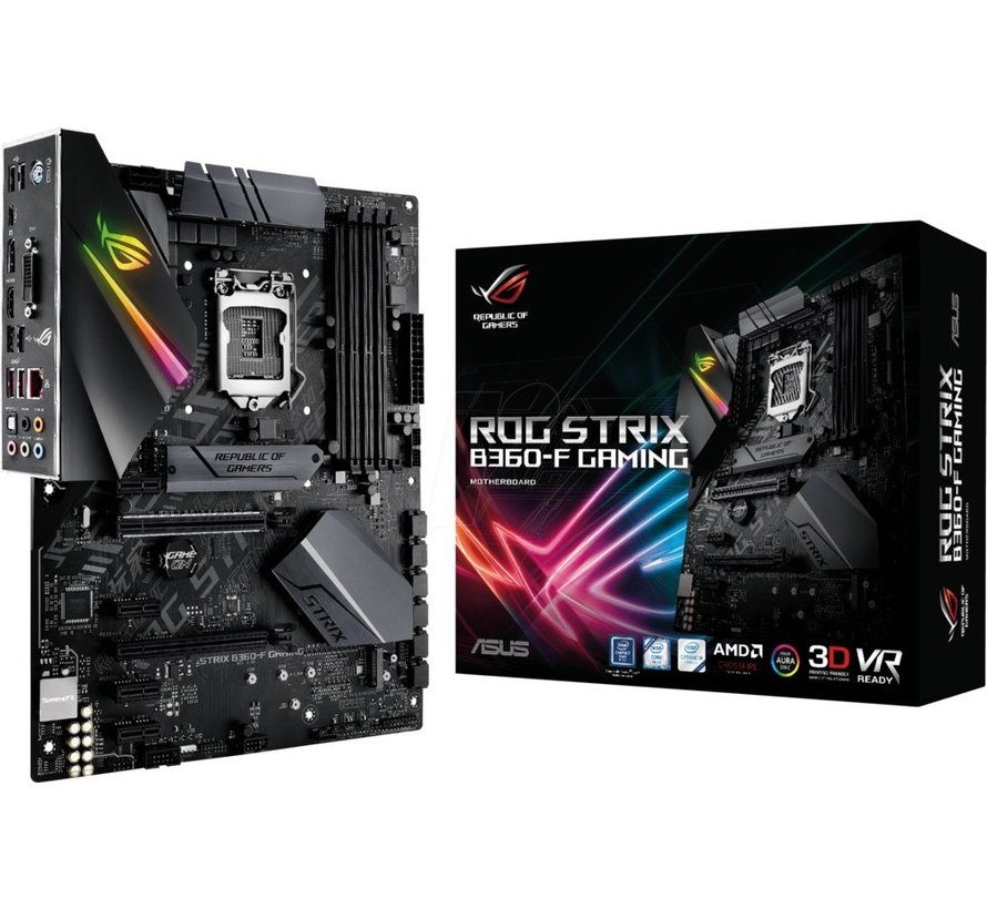 MB  ROG Strix B360-F / 8th comp / DP / HDMI / ATX