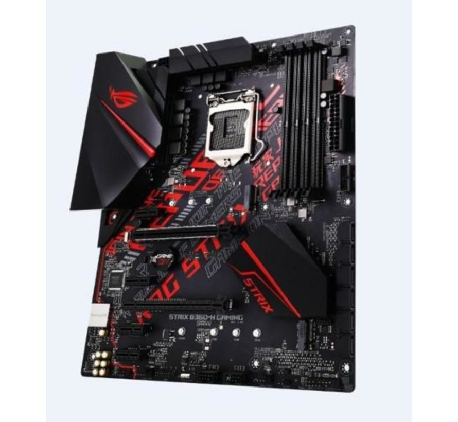 MB  ROG Strix B360-H Gaming / 8th comp. / 4x DDR4 / ATX