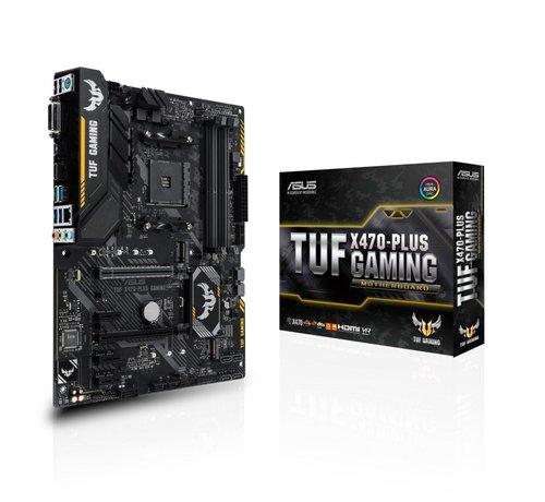 Asus MB  TUF X470-PLUS GAMING AM4 / 4 x DDR4 / M.2 /  ATX /