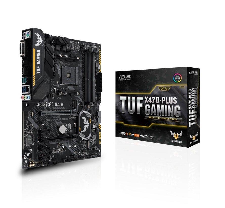 MB  TUF X470-PLUS GAMING AM4 / 4 x DDR4 / M.2 /  ATX /