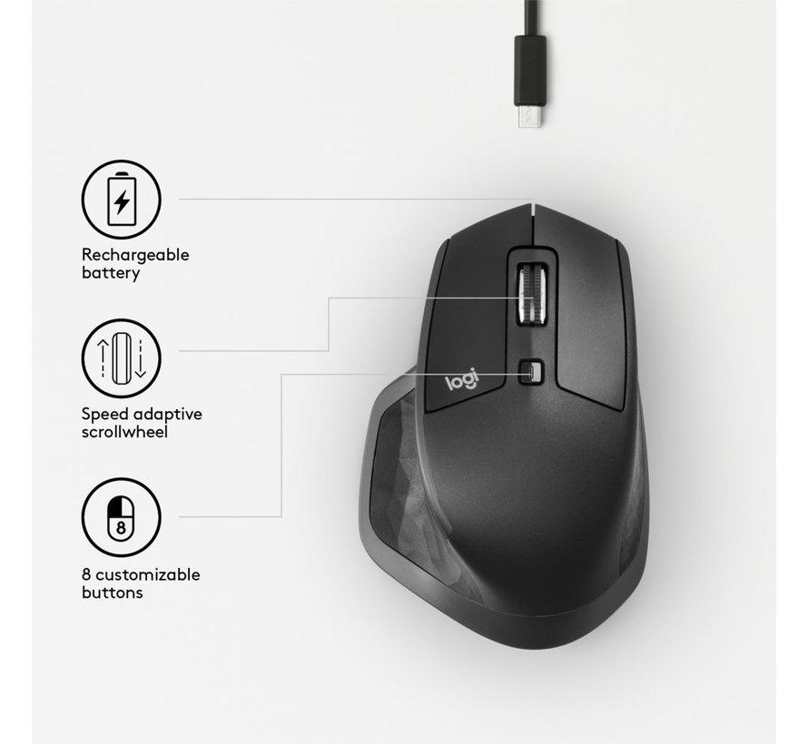 MX Master 2S Wireless Mouse Grafiet
