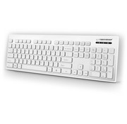 Esperanza White Keyboard