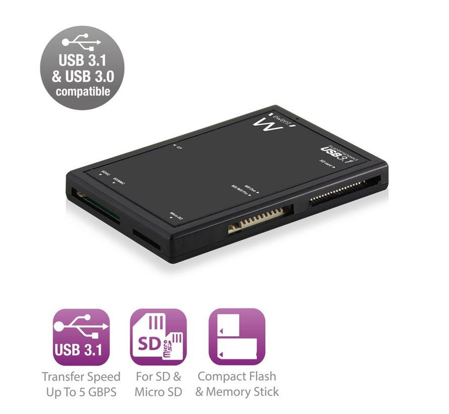 USB 3.1 Gen1 (USB 3.0) Multi Card Reader