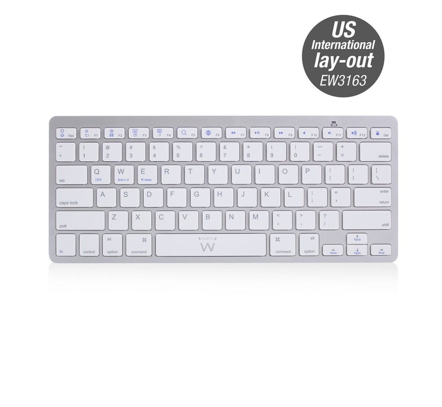 Bluetooth keyboard US lay-out