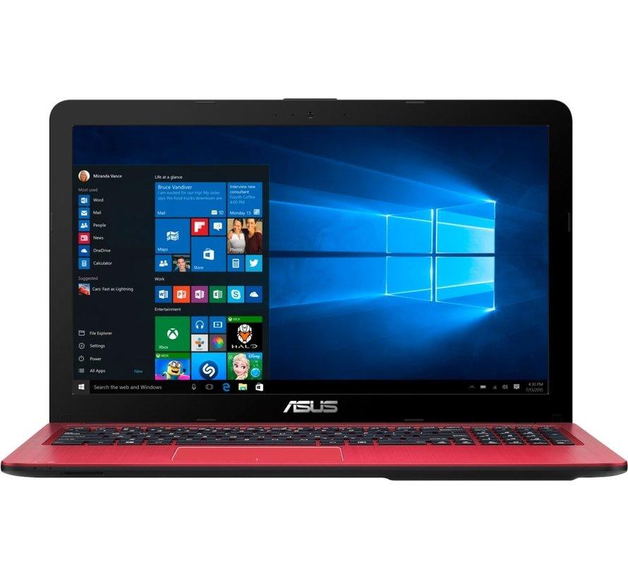 ASUS R540LA RED / 15.6 / i3-5005U / 4GB / 240GB SSD / W10 (refurbished)