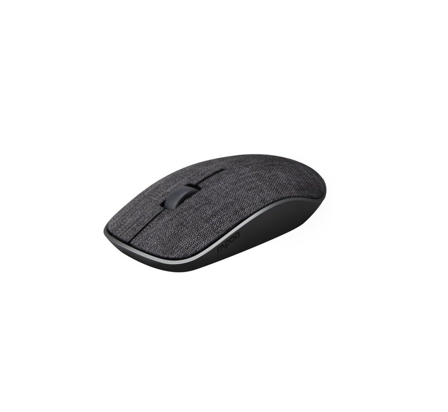 2.4GHz Wireless Mouse Fabric Black