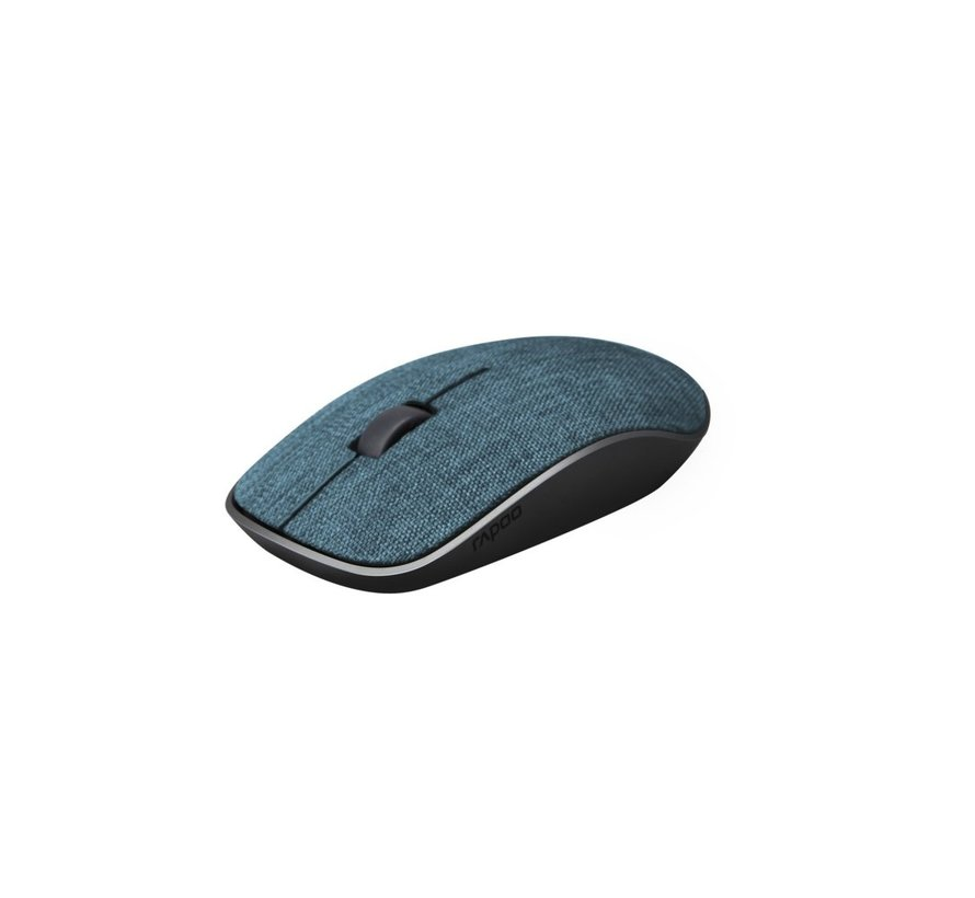 2.4GHz Wireless Mouse Fabric Blue