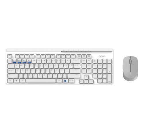 Rapoo Multi Mode combo - white