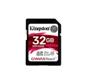 Kingston Technology SD Canvas React flashgeheugen 32 GB SDHC Klasse 10 UHS-I