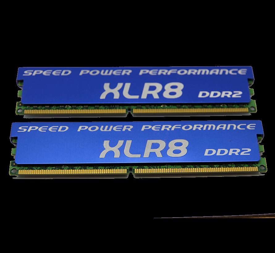 XLR8 DDR2 PC2-6400U Extrememory 4GB