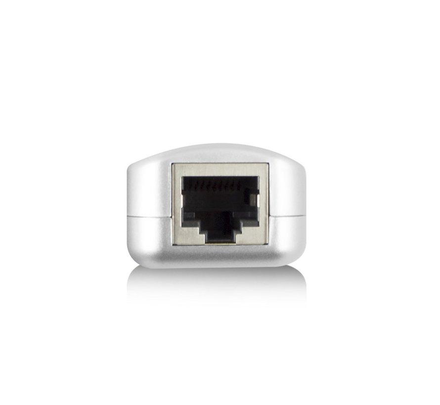 Active USB extender set 60m single CATx