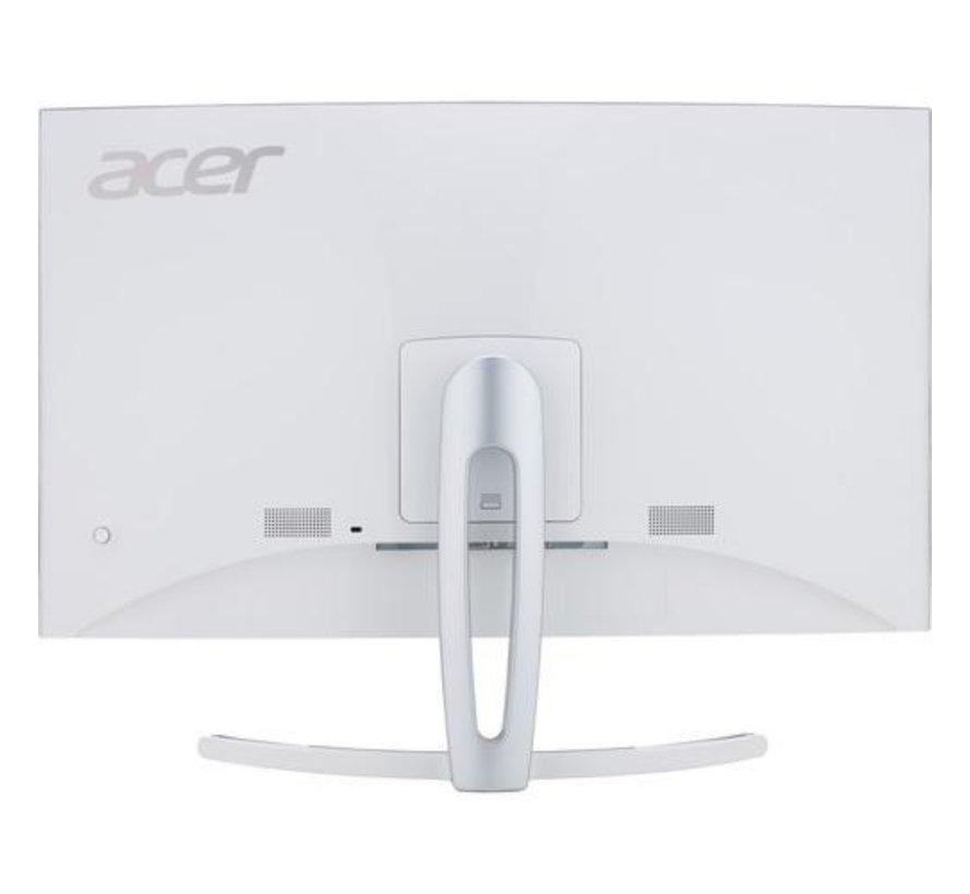 Mon  27 inch / Curved /HDMI / DVI-D / VGA / White