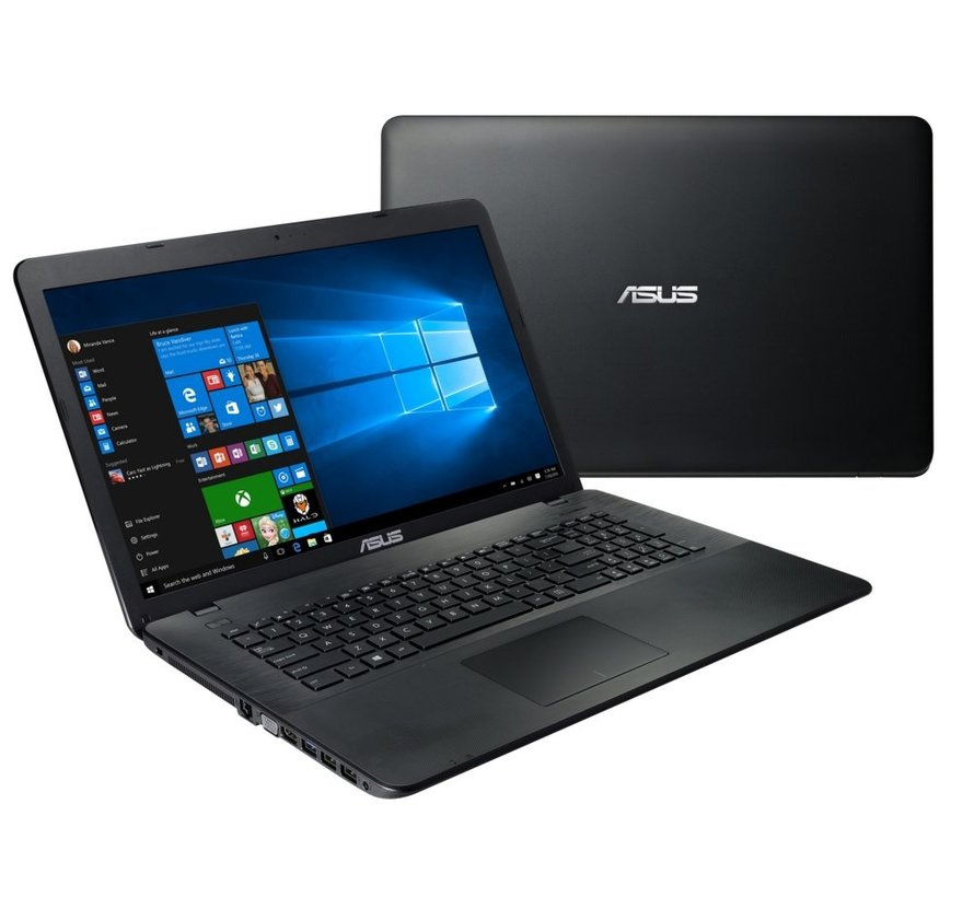ASUS F75 / 17.3 / N4200 / 4GB / 360GB SSD / W10 / RFS (refurbished)
