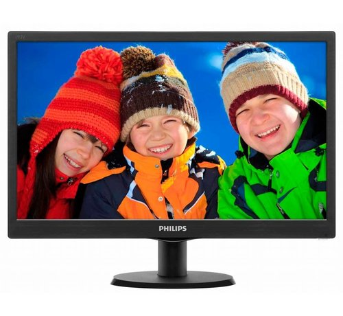 Philips TFT  18.5Inch / LED / 5MS / VGA (refurbished)