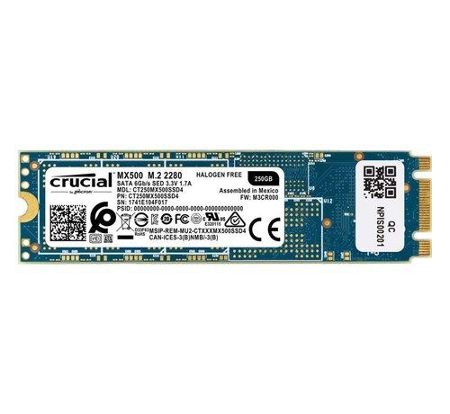 Crucial SSD  MX500 250GB m.2 (2280) 560MB/s Read 510 MB/s
