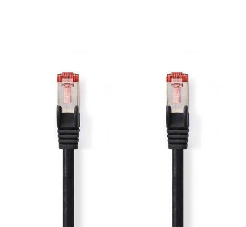 Nedis CAT6 S/FTP-netwerkkabel/RJ45 2m Zwart