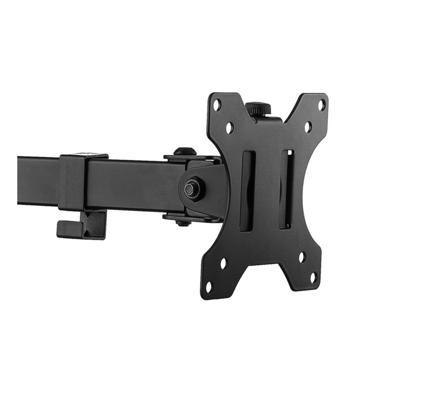 Monitor desk mount stand 2 LCD